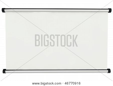 3D Empty Signboard