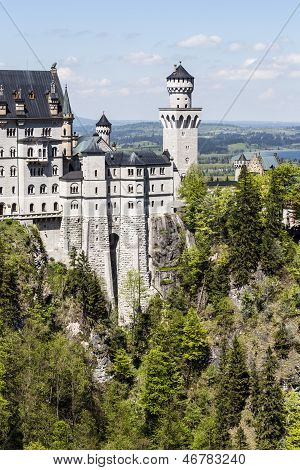 Neuschwanstein In Southwest Bavaria