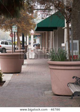 Sidewalk In Clovis