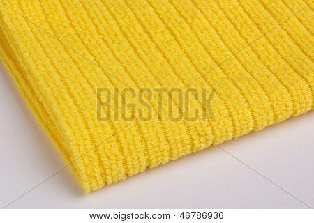 Yellow Terry Towel