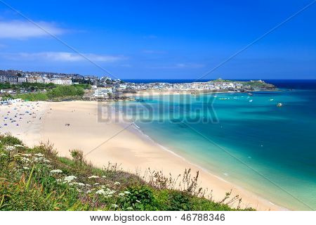 St Ives Cornwall Inglaterra Uk