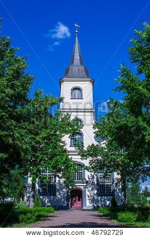 Baltezers church in Latvia