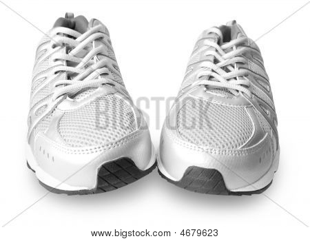 Man's Jogging Shoes Isolated