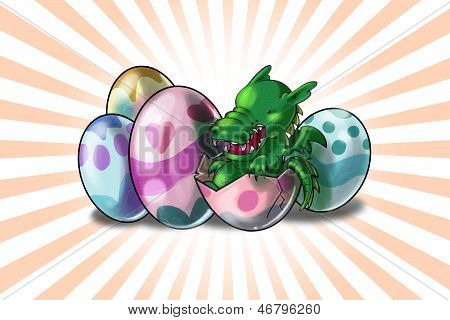 Baby Easter Dragon