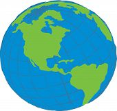 picture of world-globe  - world globe  - JPG
