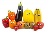 foto of aubergines  - Various Fruit and Vegetables  - JPG