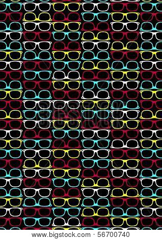 Glasses pattern.