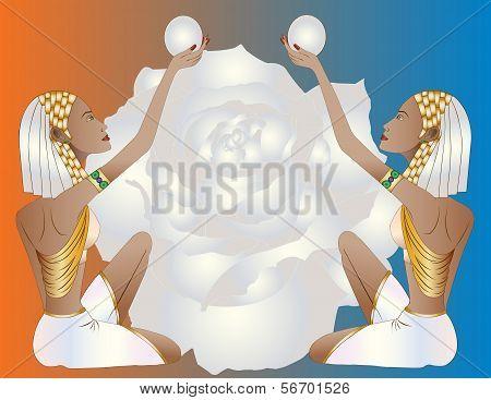 Duo Egyptian Women