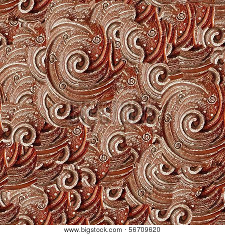 Ceramic  seamless background.(Seamless pattern for continuous  replicate).