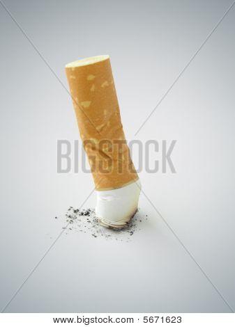 Cigarette butt - Quit Smoking