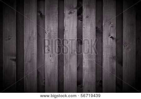 Dark Wooden Wall As Background