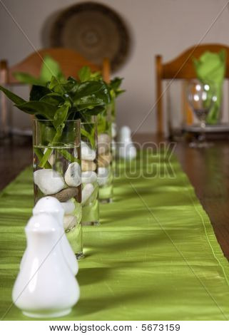 Guest House Table Setting Close-up