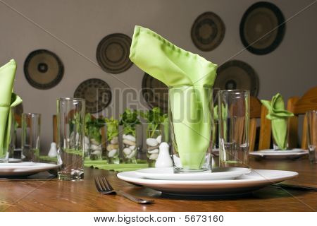 Guest House Table Setting