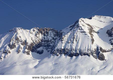 Sabocos peak, Tendenera mountains, Tena Valley, Pyrenees, Huesca, Aragon, Spain
