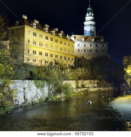 Castle of Cesky Krumlov, South Bohemia, Czech Republic