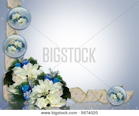 Christmas Background Elegant Blue