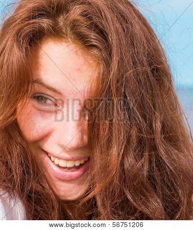 Babe Beach Portrait