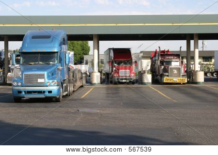 Truck Stop Fueling