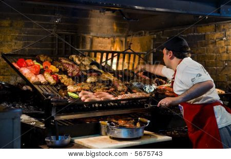 Barbecue In Montevideo