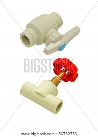 Plastic Faucet Taken Closeup