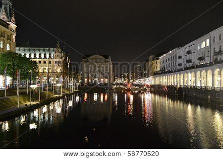 Night Hamburg