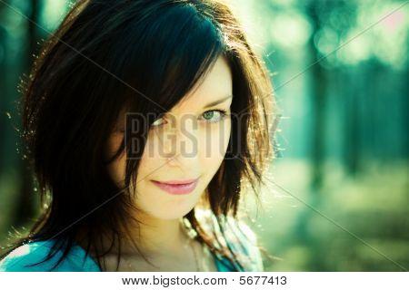Woman Mysterious Portrait