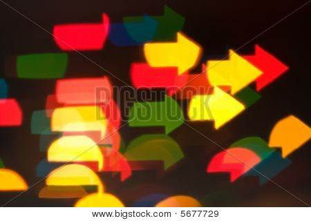 Abstract Blur Effect Lights
