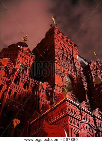 Die Burg bei Nacht 1
