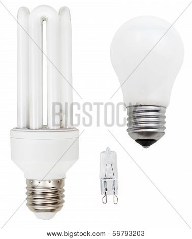 Incandescent, Tubular Fluorescent, Halogen Lamps