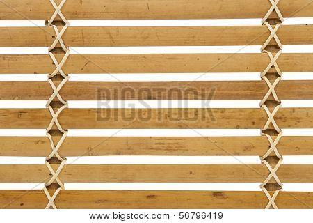 Detailed Wooden Louver Pattern