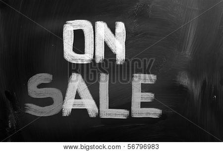 On Sale Concept