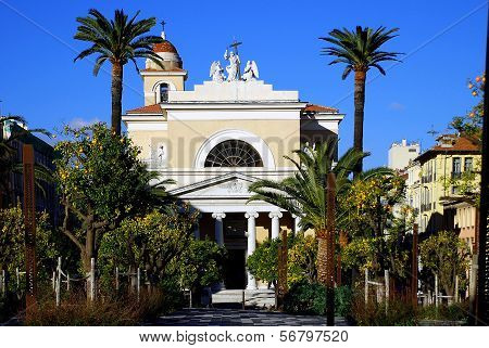 Catholic church in Nice, France