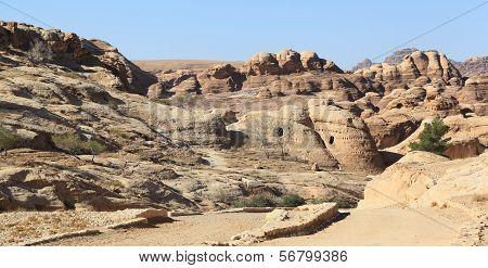 Rock-Cut Tombs at Petra