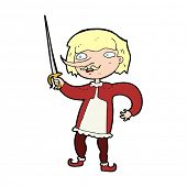image of musket  - cartoon musketeer - JPG