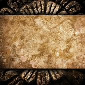picture of rock carving  - vintage stone background - JPG