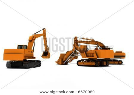 Three Diggers