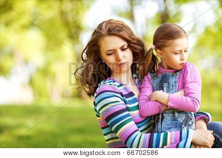 Mother And Daughter Fun, Resent Each Other