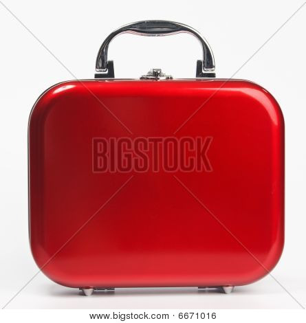 Red Small Suitcase