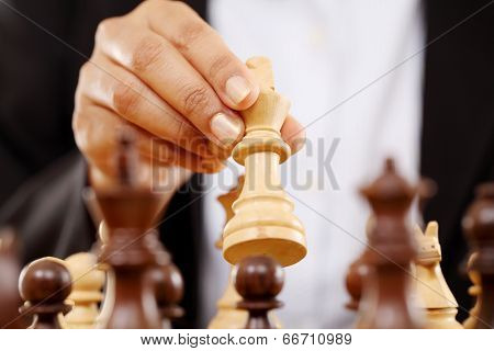 The King Is Checkmated