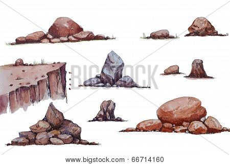 Set Of The Stone