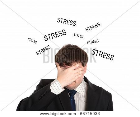 Businessman In Stress