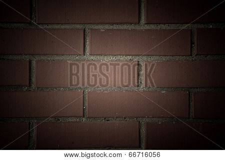 Texture Of The Walls Of Bricks