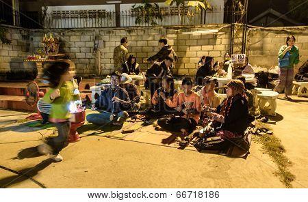 folk thai music style show