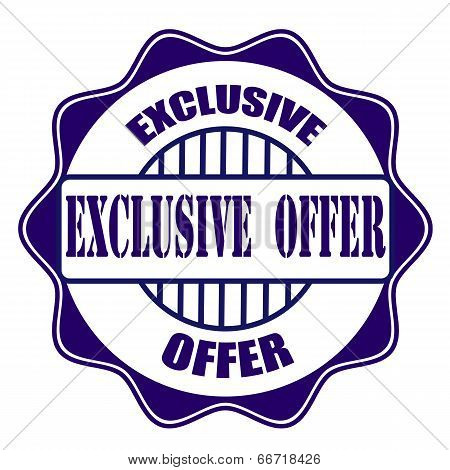 Exclusive Offer Stamp