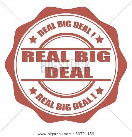 Real Big Deal Stamp