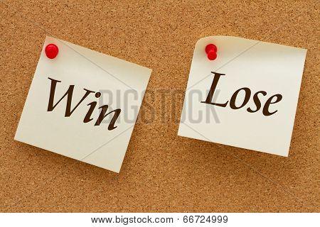 Win Versus Lose