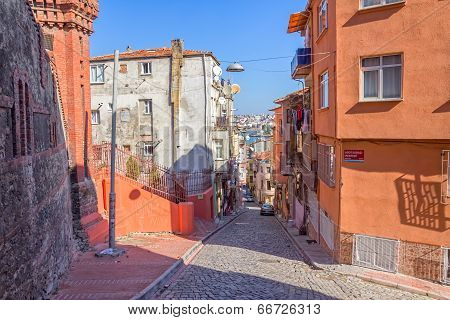 Istanbul old street - Phanar district