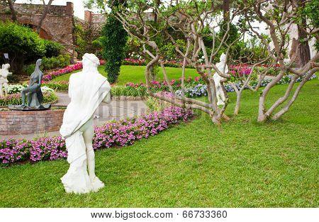 Garden Of Augustus Capri, Italy