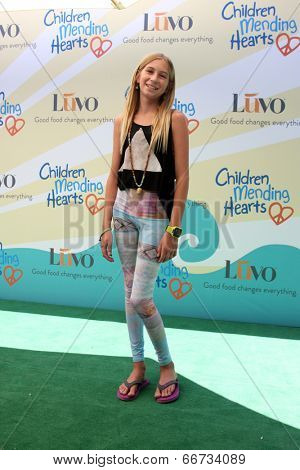 LOS ANGELES - JUN 14:  Jaysea DeVoe at the Children Mending Hearts 6th Annual Fundraiser at Private Estate on June 14, 2014 in Beverly Hills, CA