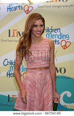 LOS ANGELES - JUN 14:  Kayla Ewell at the Children Mending Hearts 6th Annual Fundraiser at Private Estate on June 14, 2014 in Beverly Hills, CA